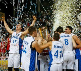 חדשות ספורט, ספורט נבחרת ישראל בכדורסל עלתה לאליפות אירופה