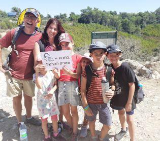 טיולים, צאו לטייל עשרות אלפים יצאו לטייל בשמורות הטבע והפארקים