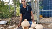 ארכיאולוגיה, טיולים תושב הגליל מצא כלי חרס המתוארכים לימי נח