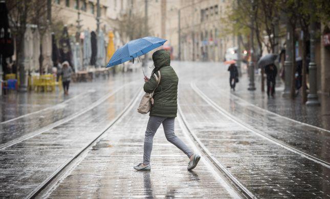 ירידה בטמפרטורות, גשם ושטפונות: תחזית מזג האוויר