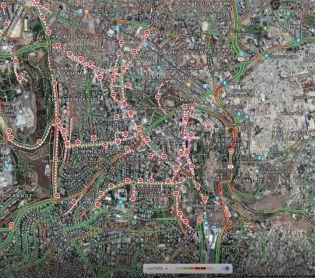 חדשות טכנולוגיה, טכנולוגי גוגל מציגה: אלו כל הכבישים שנסגרים בירושלים