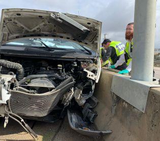"""חדשות חרדים מתנדב זק""""א בן 50 נהרג בתאונה ליד פדואל"""