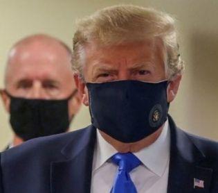 """חדשות בעולם, מבזקים זעם בארה""""ב: """"המסכה של טראמפ – קמפיין בחירות זול"""""""
