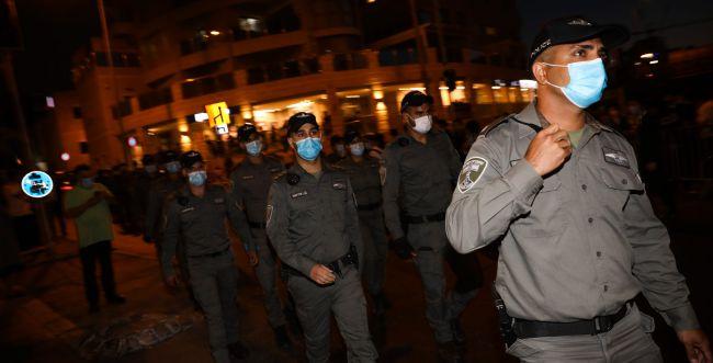 הפגנת החרדים יצאה משליטה, המשטרה מאופקת