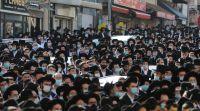 """חדשות חרדים בתנאי קורונה: אלפים בהלווית הרב אהרון חדש זצ""""ל"""