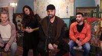 """מוזיקה, תרבות מרגש: דוד ד'אור בשיר עם פצועי צה""""ל ונפגעי האיבה"""